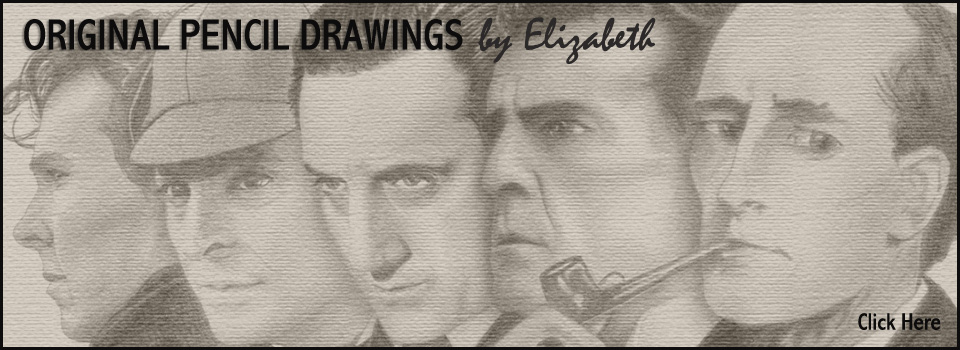 Elizabeth's Pencil Drawings Banner